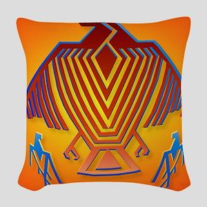 Big Thunderbird_pillow Woven Throw Pillow