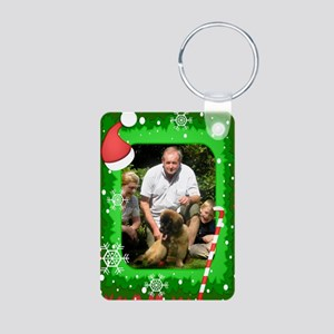 Personalizable Christmas Photo Frame Aluminum Phot