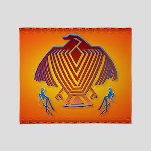 Big Thunderbird_mpad Throw Blanket