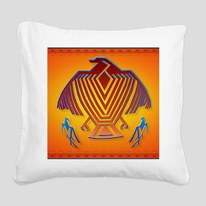 Big Thunderbird_mpad Square Canvas Pillow