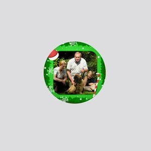 Personalizable Christmas Photo Frame Mini Button