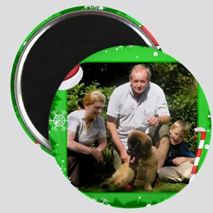 Personalizable Christmas Photo Frame Magnet