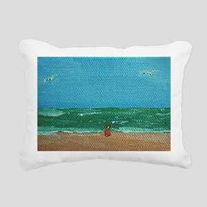 cafepressprint Rectangular Canvas Pillow