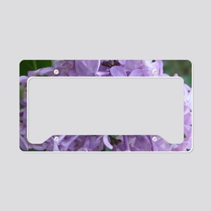 LilacLaptopSkin License Plate Holder