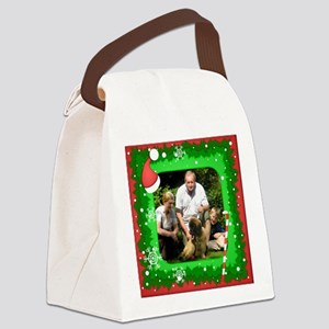 Personalizable Christmas Photo Frame Canvas Lunch
