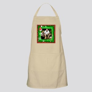 Personalizable Christmas Photo Frame Apron