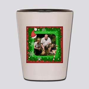 Personalizable Christmas Photo Frame Shot Glass