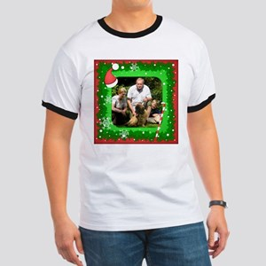 Personalizable Christmas Photo Frame Ringer T