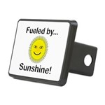 Fueled by Sunshine Rectangular Hitch Cover