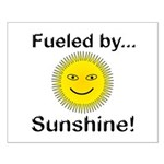 Fueled by Sunshine Small Poster