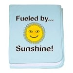 Fueled by Sunshine baby blanket