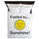 Fueled by Sunshine Queen Duvet