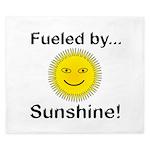 Fueled by Sunshine King Duvet