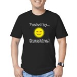 Fueled by Sunshine Men's Fitted T-Shirt (dark)
