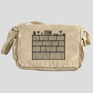 Bookshelf4 Messenger Bag