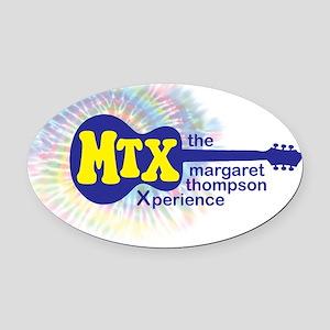 MTX Oval Car Magnet