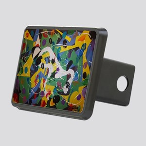 Kids paintings July 4, 201 Rectangular Hitch Cover
