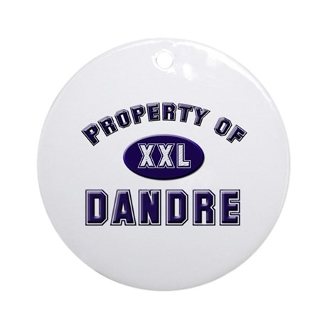 Property of dandre Ornament (Round)