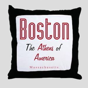 Boston_10x10_Athens of America Throw Pillow
