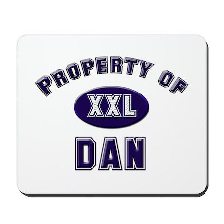 Property of dan Mousepad