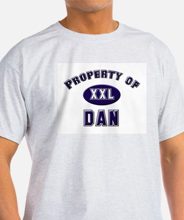 Property of dan Ash Grey T-Shirt
