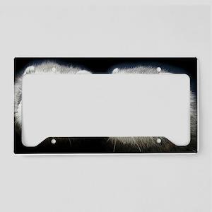 2 ferrets_laptop_skin License Plate Holder