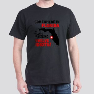 12 Idiots Dark T-Shirt