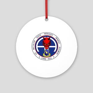 Devil 1-504 v1 Round Ornament