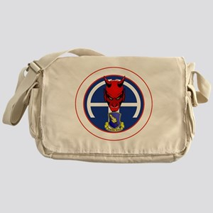 Devil 1-504 v1 - white Messenger Bag