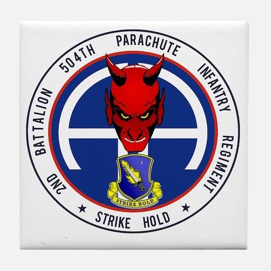 Devil 2-504 v1 Tile Coaster