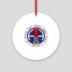 Devil 2-504 v1 Round Ornament
