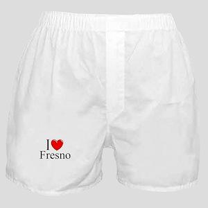 """""""I Love Fresno"""" Boxer Shorts"""