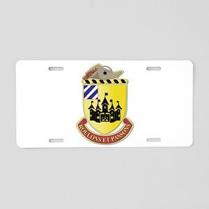 DUI - 3rd Brigade Support Bn Aluminum License Plat