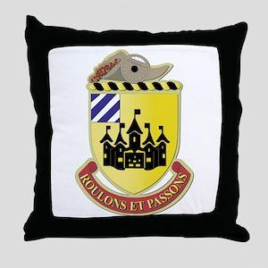 DUI - 3rd Brigade Support Bn Throw Pillow