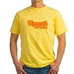 Smooth Like Butter on a Bald Monkey Yellow T-Shirt
