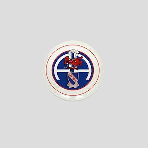Fury 1st 508th v1 - white Mini Button