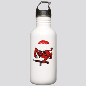 1st 508th Pocket - whi Stainless Water Bottle 1.0L