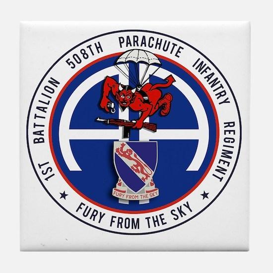 Fury 1st 508th v1 Tile Coaster