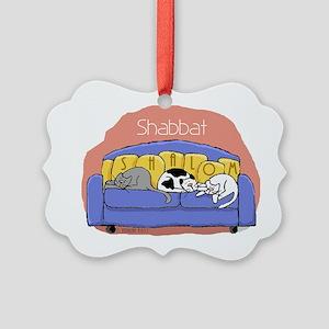 shalomcats Picture Ornament