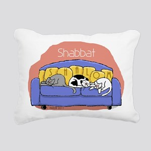 shalomcats Rectangular Canvas Pillow