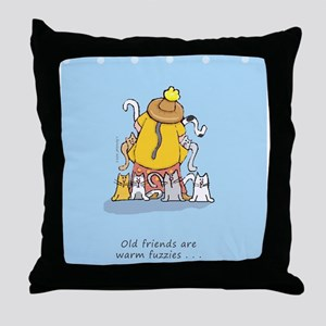 catladyfriend Throw Pillow