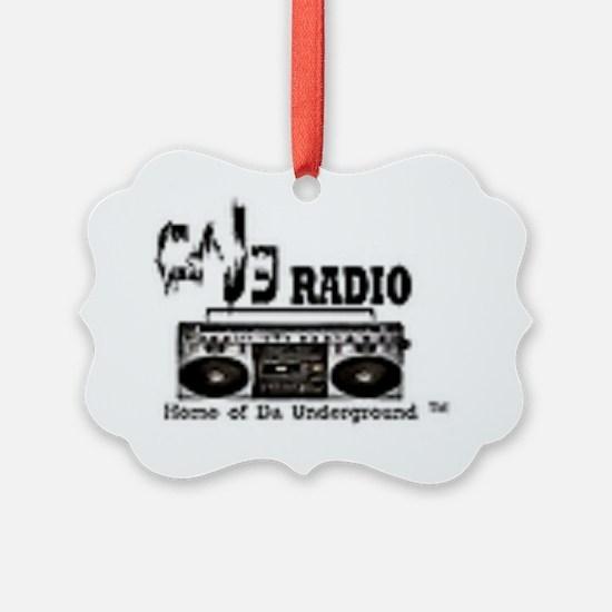 caj3 radio2 Ornament