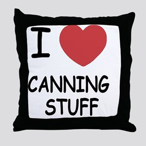 CANNING_STUFF Throw Pillow
