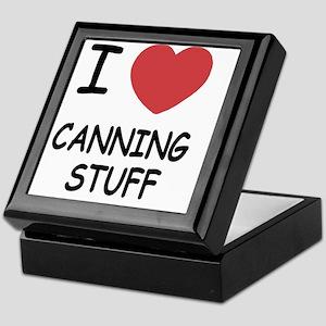 CANNING_STUFF Keepsake Box