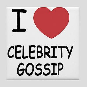 CELEBRITY_GOSSIP Tile Coaster