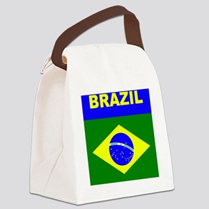 brazil Canvas Lunch Bag