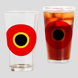 8x10-Roundel_of_Belgium_1945 Drinking Glass