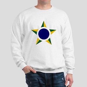 8x10-Brazilian_Air_Force_roundel Sweatshirt
