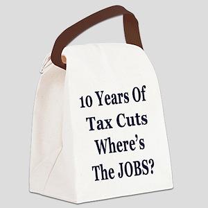10 years jobs lt Tshirt Canvas Lunch Bag