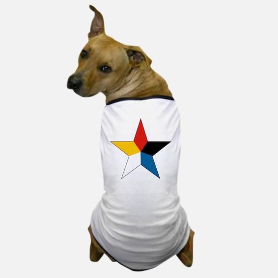 10x10-Chinese_Roundel_1916-1920 Dog T-Shirt